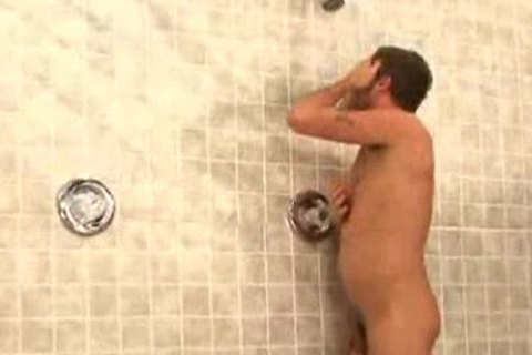 Taking A Shower After Basketball