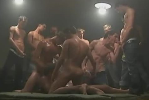 homosexual gangbang Party