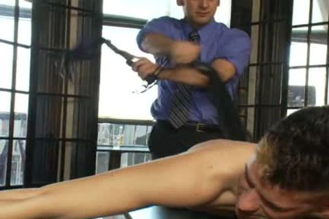 smutty gay guy acquires tied Up And wazoo screwed In Public