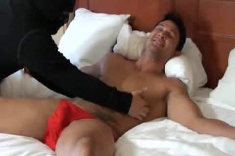 Hunky lad acquires Teased