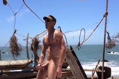 hammering And stroking And Squirting At The in nature's garb Beach