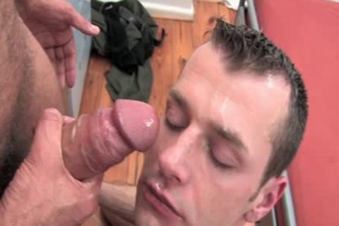 large jock Daddy And Tommy In This Sodomy Scene