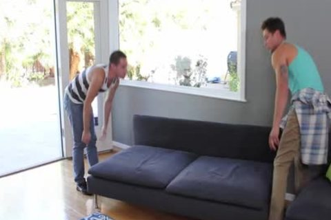 HD - GayRoom dirty boy Is drilled By His muscular ally