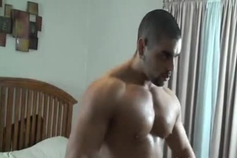 meaty Muscle Hunk fastened And Tickled - Angelo Antonio