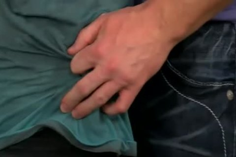 thick Manly Hunk Mitch Vaughn plows The cum Out Of Kyler Moss