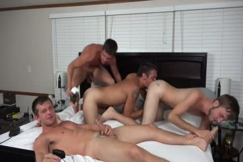 A pair AND TWO allies pounding ON cam