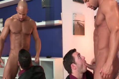 large shlong gay blowjob With spunk flow