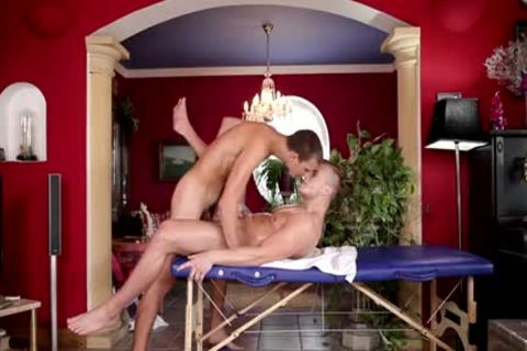 tight homosexual butthole And Massage