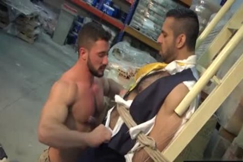 Muscle homosexual anal sex With cumshot
