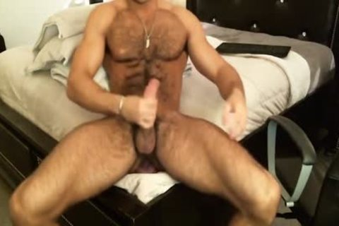 Hunk Sean Zevran dildos His anal And Cums On web camera