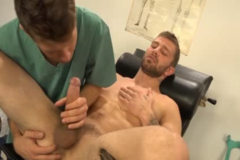 Muscle gay Dp With sperm flow