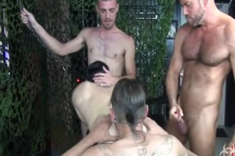 tasty raw Foursome group gang-sex
