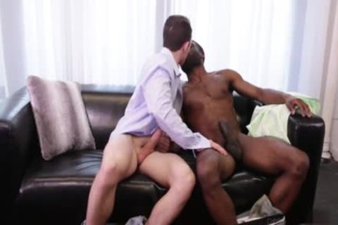 gigantic ramrod homosexual Interracial With ejaculation