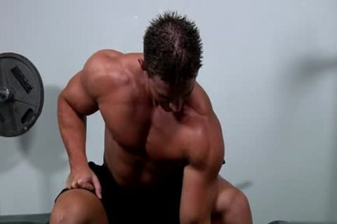 Muscle gay oral-sex sex And ball batter flow