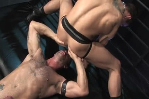 Muscle gay Flip Flop And butthole cumshot