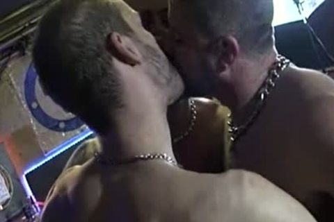 three-some In A gay Bar