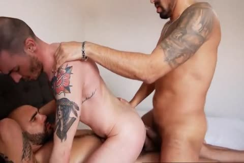 excited homo movie With massive 10-Pounder, gangbang Scenes