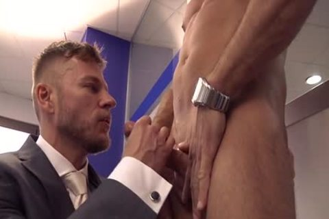 Muscle gay butthole job And semen flow