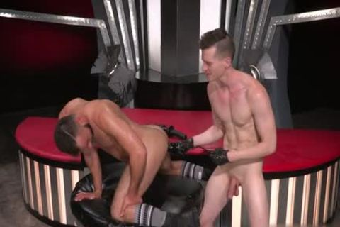 beautiful gay Fetish With spunk flow