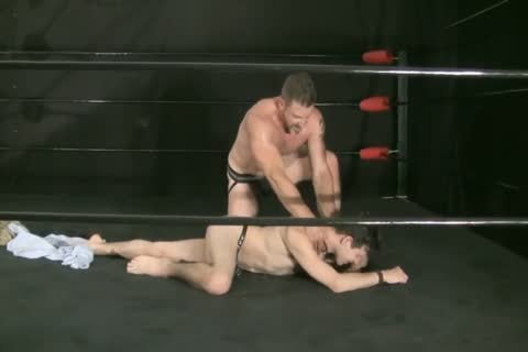 Dilf Dominates twink In Wrestling Ring