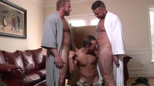 My Two Daddies - Charlie Harding with Luke Adams anal sex