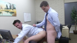 The Office whore two - Mike De Marko with Jimmy Johnson booty stab