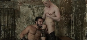 homo Of Thrones - Jessy Ares with JP Dubois butthole Nail