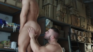 Heart's crave - Francois Sagat with Diego Reyes ass Hook up