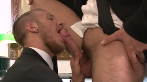 Executive Suite - Jarec Wentworth & Jaxon Colt butt Hook up