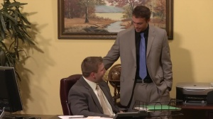 Touchy Boss - Office pound