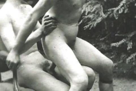 Granny's Attic Presents Vintage butthole plowing & sucking