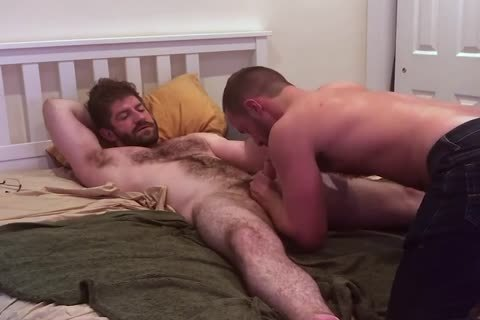 VERBAL hairy dad TELLS HOOKUP he'S going to NUT INSIDE