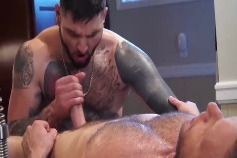 Tattooed twink acquires His arsehole Massaged
