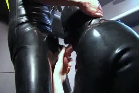 blowing And fucking In Rubber