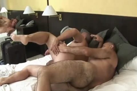 enjoyable Latin daddy Daddy Sucks & acquires plowed By hairy grandpa
