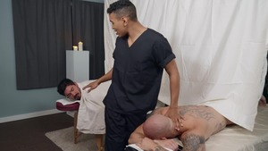 widen At The Spa: raw - Trevor Laster with Mateo Fernandez American Hook up
