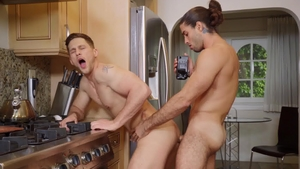 DrillMyHole - Muscled Diego Sans sucking cock indoors
