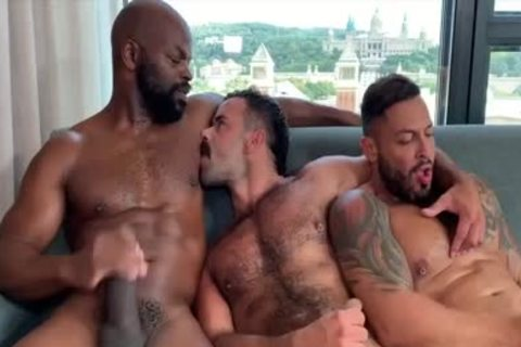 I'm A Fan Of His Way Of engulfing And Being Bottom: Damn So delicious three-some