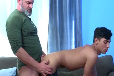 Latin Exchange Student receives pounded Hard By Daddy