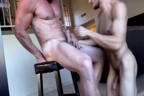 Daddy Derek pounds Ethans lovely aperture - FULL DOMINATION - astonishing Facial