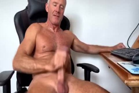 Dream Dilf Play With His monstrous Uncut German cock (no cum)