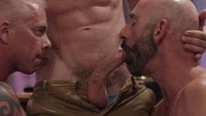 IconMale.com - Link Parker bareback licking ass video