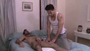 IconMale.com - Muscle big cock Roman Todd fucks in the ass