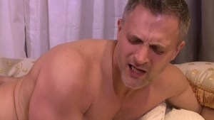 Icon Male: Gay Brendan Cage & muscled Roman Todd blowjob cum