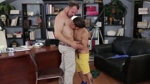 IconMale: Latin Max Sargent masturbating after school in HD