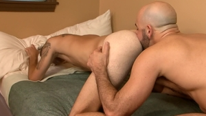 IconMale.com - Bryce Action among twink boy Adam Russo rimjob