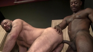 ExtraBigDicks: Gay Aaron Trainer plowed by Jake Morgan