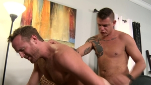 ExtraBigDicks: European Jack Gunther kissing