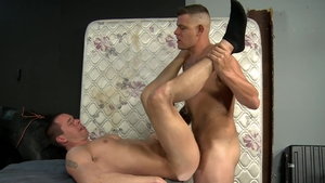 MenOver30 - Brunette Jace Chambers loves big dick daddy