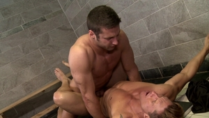 Men Over 30 - Rod Peterson with Bryce Evans rough masturbating